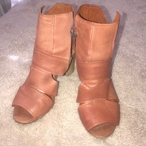 Free People Effie Block Heel Shoe